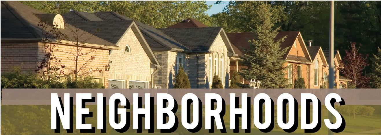 Search By Neighborhoods
